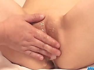 Hot japan girl Anna Mibu verge on fuck